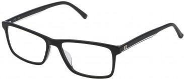 Fila VF9115 glasses in Shiny Black
