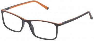 Fila VF9113 glasses in Orange/Grey