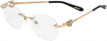 Chopard VCHC35S glasses in Shiny Copper Gold