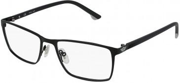 Police VPL951 glasses in Semi Matt Black