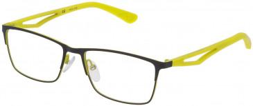 Police VK555 glasses in Grey/Rubberizedized Paint
