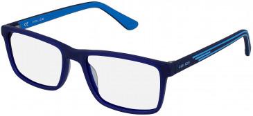 Police VK080 glasses in Matt Opal Blue