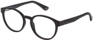 Police VK075 glasses in Shiny Black