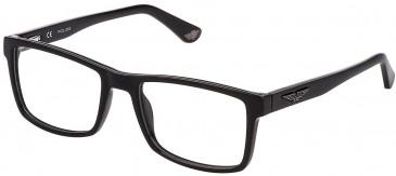 Police VK074 glasses in Shiny Black