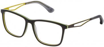 Police VK071 glasses in Multilayer Black