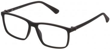 Police VK070 glasses in Matt Black