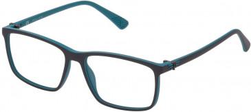 Police VK070 glasses in Azur/Grey