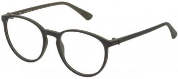 Police VK069 glasses in Matt Green