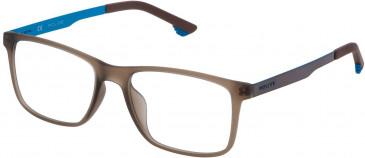 Police VK059 glasses in Matt Transparent Blue