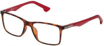 Police VK057 glasses in Rubberized Dark Havana