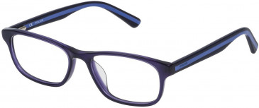 Police VK050 glasses in Shiny Full Blue