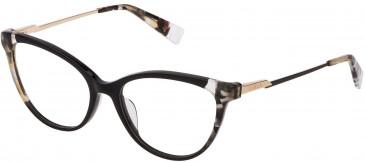 Furla VFU292 glasses in Shiny Black