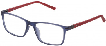 Fila VF9277 glasses in Matt Transparent Blue
