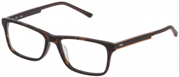 Fila VF9275 glasses in Matt Transparent Grey