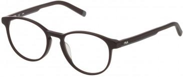Fila VF9241 glasses in Matt Dark Plum