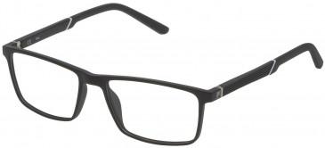 Fila VF9174 glasses in Matt Black