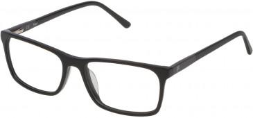 Fila VF9171 glasses in Matt Transparent Blue