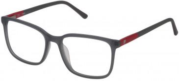Fila VF9170 glasses in Matt Transparent Grey