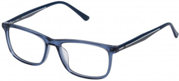 Fila VF9141 glasses in Transparent Blue