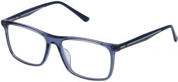Fila VF9140 glasses in Transparent Blue