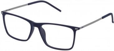Fila VF9139 glasses in Matt Full Blue