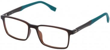 Fila VF9137 glasses in Matt Black