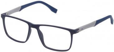 Fila VF9136 glasses in Matt Full Blue