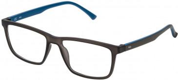 Fila VF9118 glasses in Matt Transparent Brown