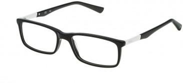 Fila VF9100 glasses in Shiny Black