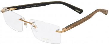 Chopard VCHC39 glasses in Shiny Satin Gun