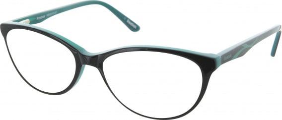 Reebok RB8010 glasses in Black/Teal