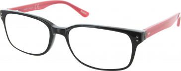 Reebok R6003 glasses in Black/Red