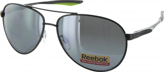 Reebok R4320 sunglasses in Dark Gunmetal/Green