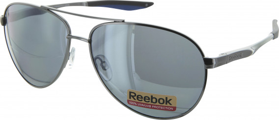 Reebok R4320 sunglasses in Dark Gunmetal/Blue