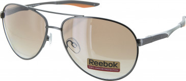 Reebok R4320 sunglasses in Dark Gunmetal/Orange