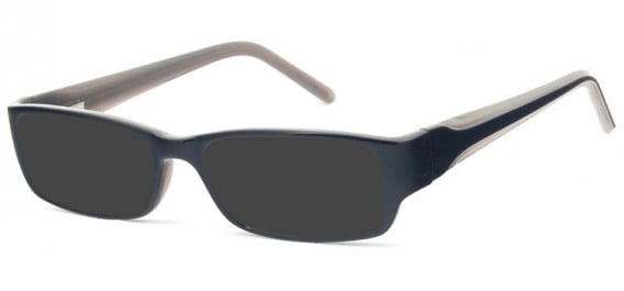 SFE-10578 sunglasses in Black/Grey
