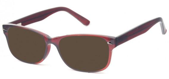 SFE-10577 sunglasses in Burgundy