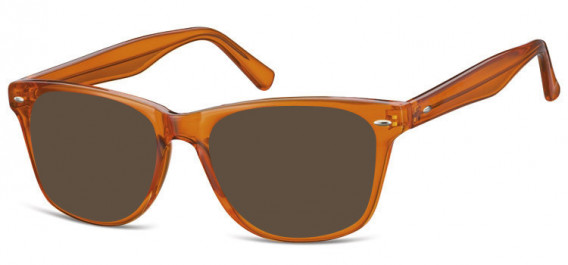 SFE-10573 sunglasses in Clear Orange