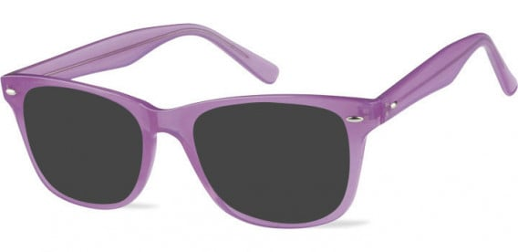 SFE-10573 sunglasses in Clear Pink