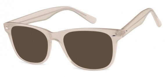 SFE-10573 sunglasses in Clear Light Pink