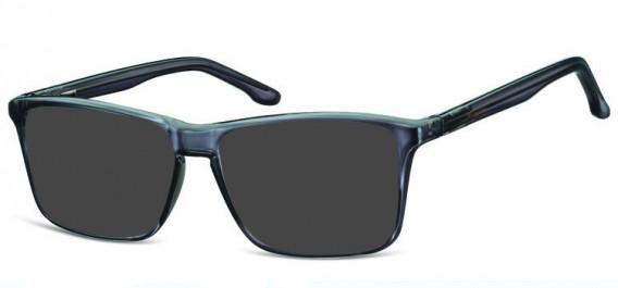 SFE-10572 sunglasses in Shiny Grey
