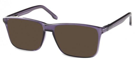SFE-10572 sunglasses in Shiny Purple
