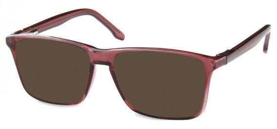 SFE-10572 sunglasses in Shiny Burgundy