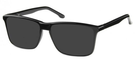 SFE-10572 sunglasses in Shiny Black