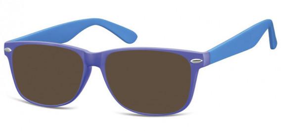 SFE-10569 sunglasses in Matt Purple/Blue