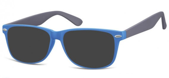 SFE-10569 sunglasses in Matt Blue/Grey