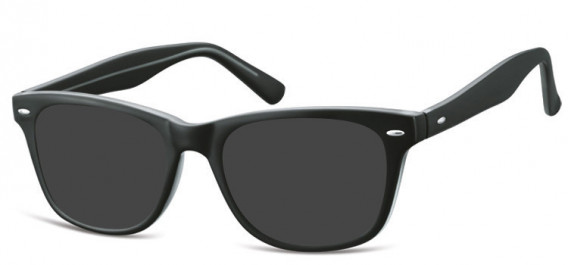 SFE-10566 sunglasses in Black/Clear