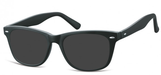 SFE-10566 sunglasses in Matt Black
