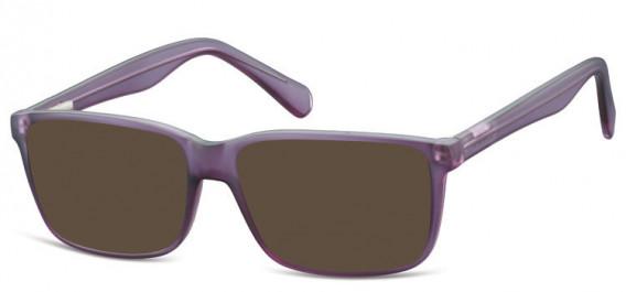 SFE-10565 sunglasses in Matt Purple