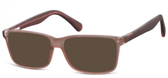 SFE-10565 sunglasses in Matt Brown